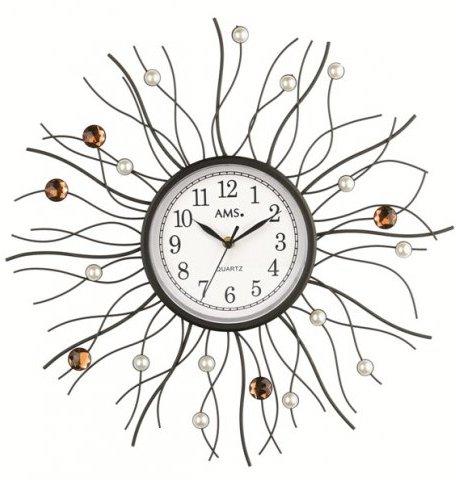 Nástenné hodiny 9445 AMS 50cm,