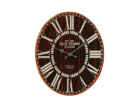 Nástenné hodiny Altstadt London, sklo, 39cm,