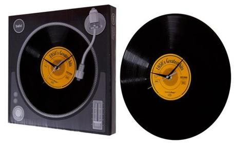 Nástenné hodiny Balvi Greatest hits 30cm,