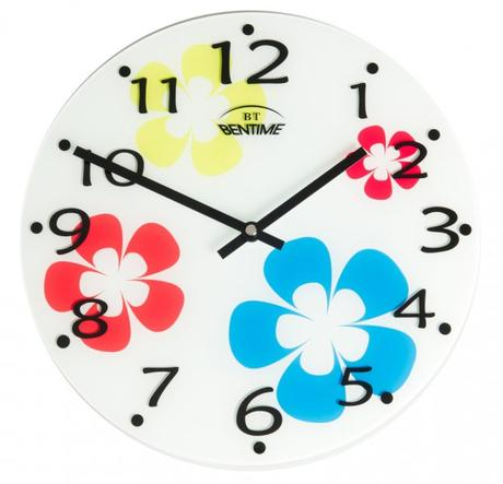 Nástenné hodiny Bentime 295-W2 30cm,