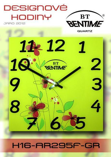 Nastenne hodiny Bentime 30 cm,