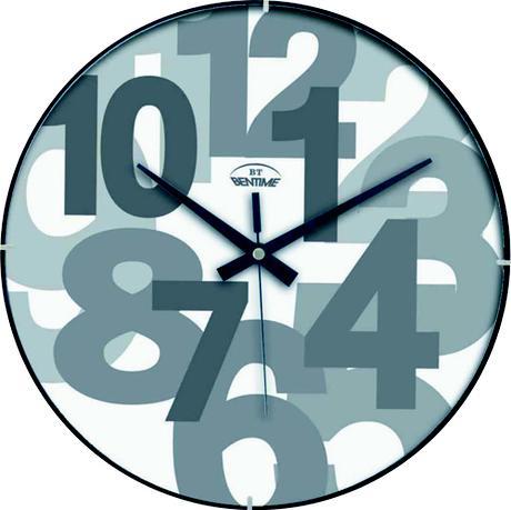 Nástenné hodiny Bentime F6235W1,