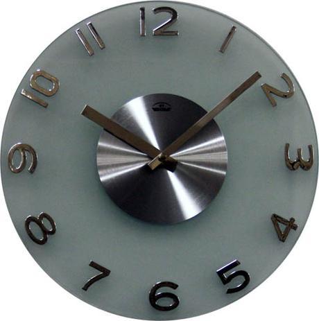 Nástenné hodiny Bentime silver 30cm,