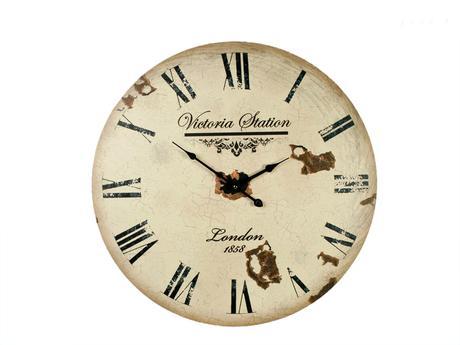 Nástenné hodiny Clock Victoria Station 1858, 60cm,