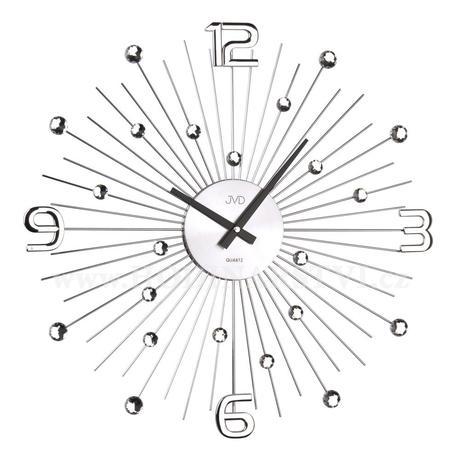 Nástenné hodiny Crystal JVD HT074 49cm,