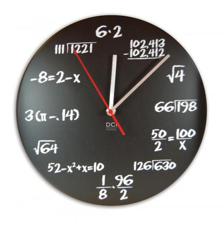 Nástenné hodiny DCI Pop-Quiz, 29cm,