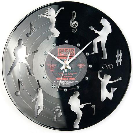 Nástenné hodiny design JVD HJ62 30cm,
