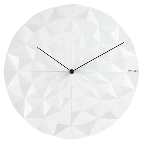 Nástenné hodiny Facet 5457/ 5460 Karlsson 40cm,