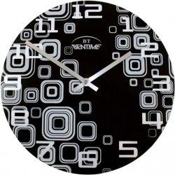 Nástenné hodiny H16 AR295BK Black 30cm,