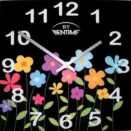 Nástenné hodiny H16 AR295FBK 30cm,
