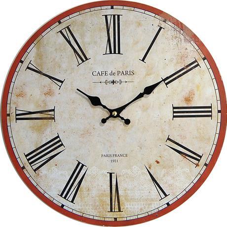 Nástenné hodiny hl Cafe de Paris 34cm,