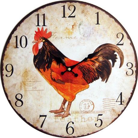 Nástenné hodiny hl Ferme 34cm,