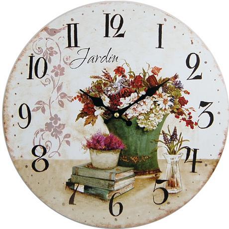 Nástenné hodiny hl Jardin 34cm,