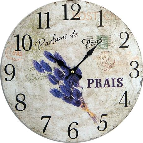 Nástenné hodiny hl Parfums de Fleurs 34cm,