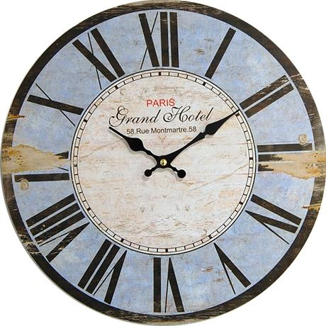 Nástenné hodiny hl Paris Grand Hotel 34cm,