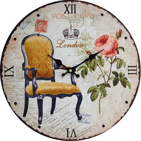 Nástenné hodiny hl Post card London 34cm,