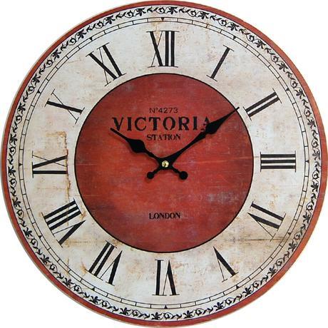 Nástenné hodiny hl Station London 34cm,