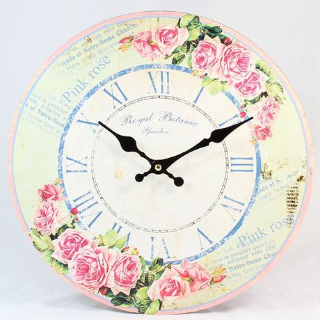 Nástenné hodiny HLC, Botanic, 34cm,