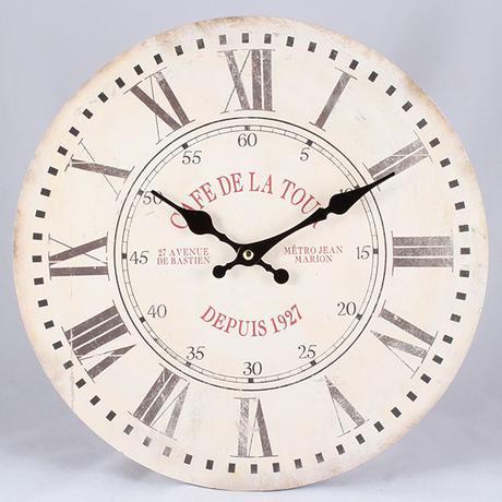 Nástenné hodiny HLC, Cafe de la Tour, 34cm,