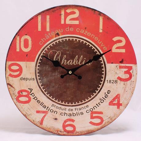 Nástenné hodiny HLC, Chablis, 34cm,