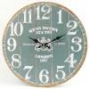 Nástenné hodiny HLC, Green, 34cm,