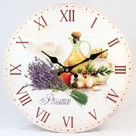 Nástenné hodiny HLC, Kitchen, 34cm,
