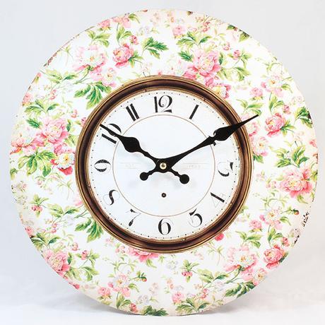 Nástenné hodiny HLC, Kvet 2, 34cm,