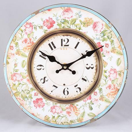 Nástenné hodiny HLC, Kvet, 34cm,