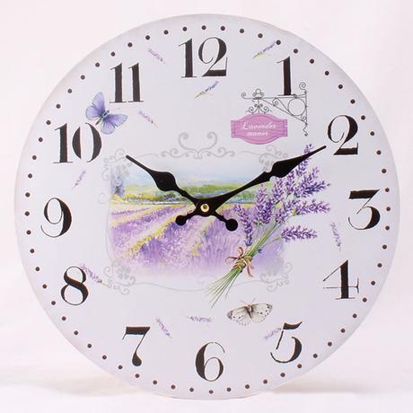Nástenné hodiny HLC, Lavender, 34cm,