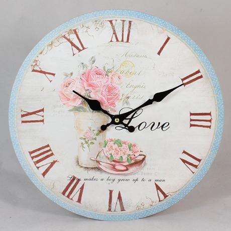 Nástenné hodiny HLC, Love, 34cm,