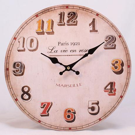 Nástenné hodiny HLC, Paris 1921, 34cm,
