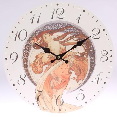 Nástenné hodiny HLC, Roma 2, 34cm,