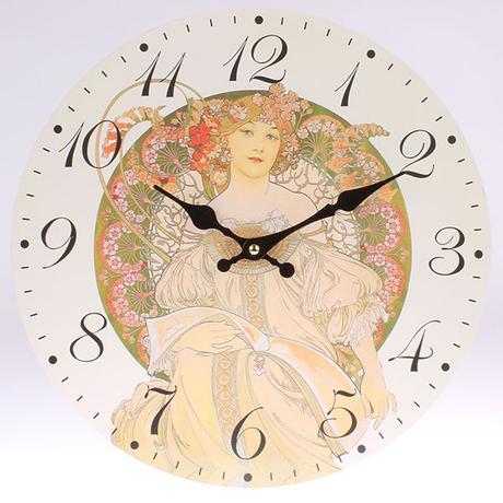 Nástenné hodiny HLC, Roma 3, 34cm,
