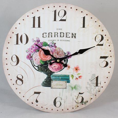 Nástenné hodiny HLC, The Garden, 34cm,