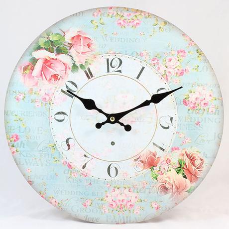 Nástenné hodiny HLC, Wedding, 34cm,