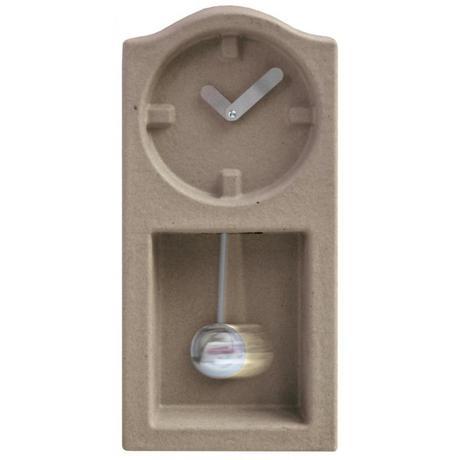 Nástenné hodiny Invotis ORANGE Paper Pulp Clock 47,