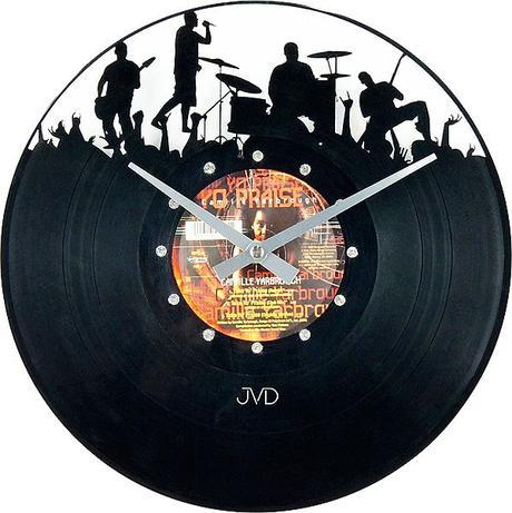 Nástenné hodiny JVD design Musica 45 31cm,