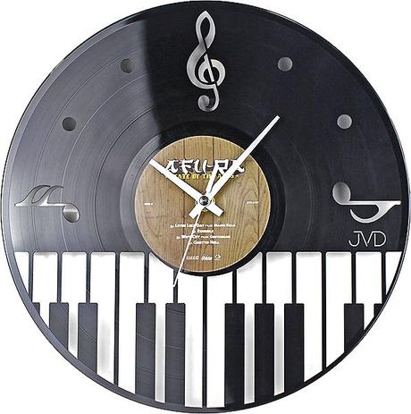 Nástenné hodiny JVD Design Musica 47 31CM,