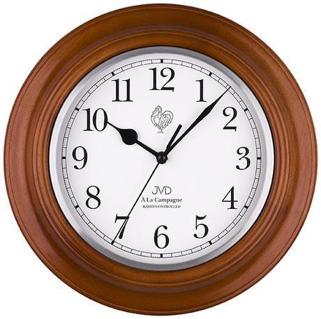 Nástenné hodiny JVD NR27043.41 riadené rádiom 30cm,