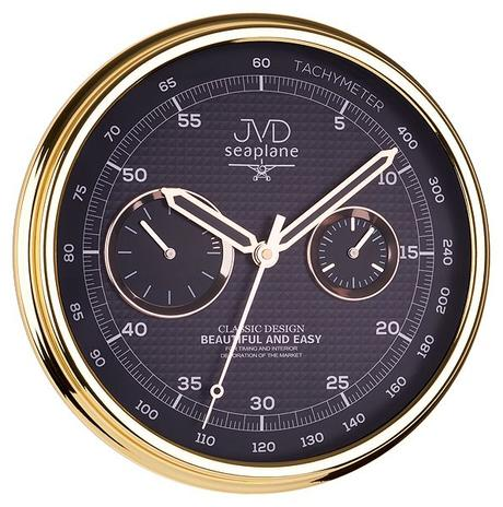 Nástenné hodiny JVD seaplane HA10.1 32cm,