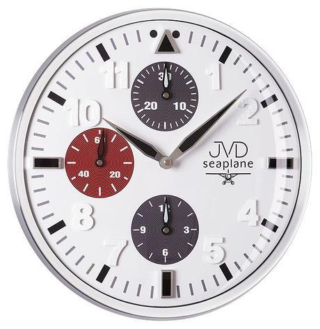 Nástenné hodiny JVD seaplane HA15.2 33cm,