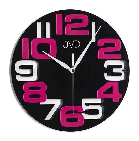 Nastenne hodiny JVD violet 25cm,