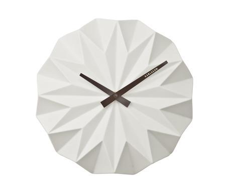 Nástenné hodiny KA5531WH Karlsson, Origami, 27cm,