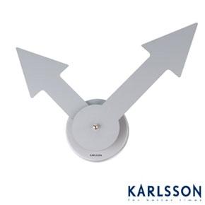 Nástenné hodiny Karlsson Little Big Time Arrov 42c,