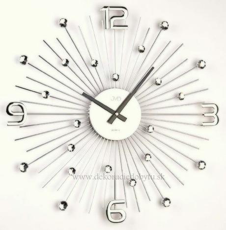 Nastenne hodiny Krystal 49 cm,
