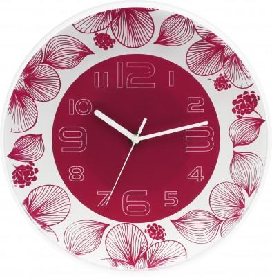 Nástenné hodiny MPM, 3227.23 - ružová, 30cm,