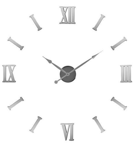 Nastenne hodiny nalepovacie rímske čisla 510 BALVI,