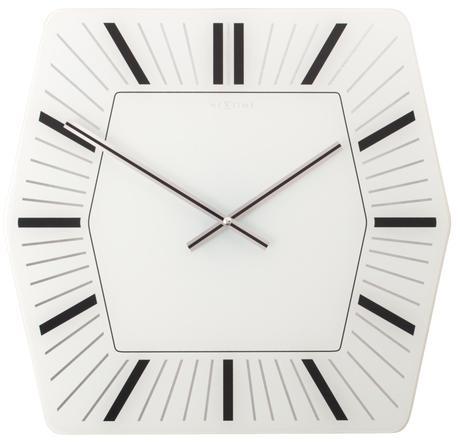 Nástenné hodiny Nextime HEXAGON 43cm,