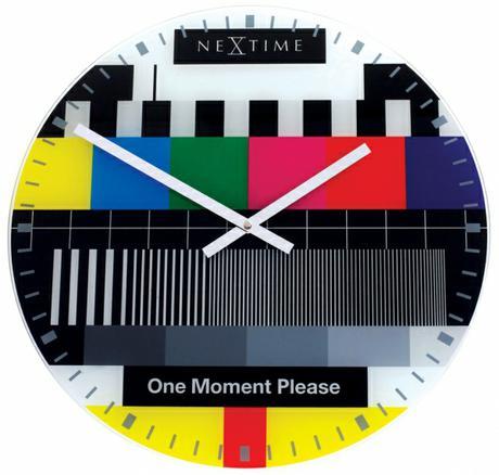 Nastenne hodiny Nextime Testpage 43 cm,