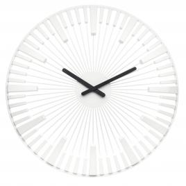 Nástenné hodiny PIANO , Koziol, biela, 45cm,